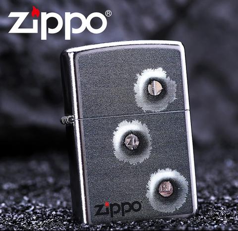 Зажигалка Zippo 28870 Bullet Holes Оригинал