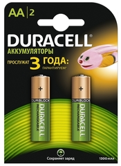 Аккумуляторы Duracell HR06 BLN04*10 (AA) 1300mAh