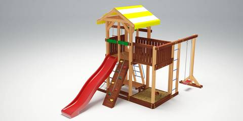 Детская площадка Савушка - 14