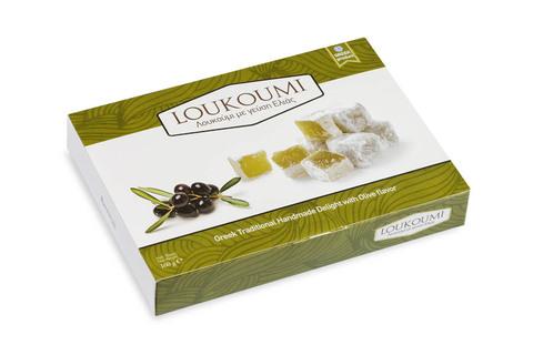 Лукум с оливками Candianuts 160 гр