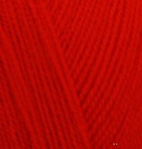 Extra life Alize 926 красный, фото
