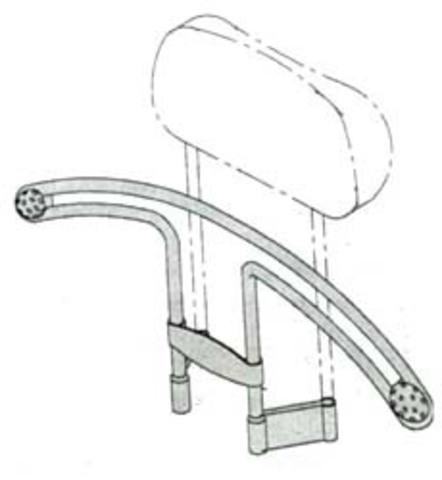 Автомобильная вешалка HEBE HBA67DC (карбон)