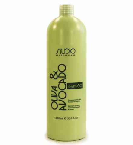 Kapous, Шампунь  для волос с маслами авокадо и оливы, 1000 мл