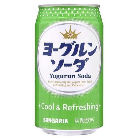 Лимонад Сангария со вкусом йогурта Cool&Refreshing ж/б 350 мл