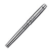Parker IM Premium - Shiny Chrome Chiselled CT, ручка-роллер, F, BL