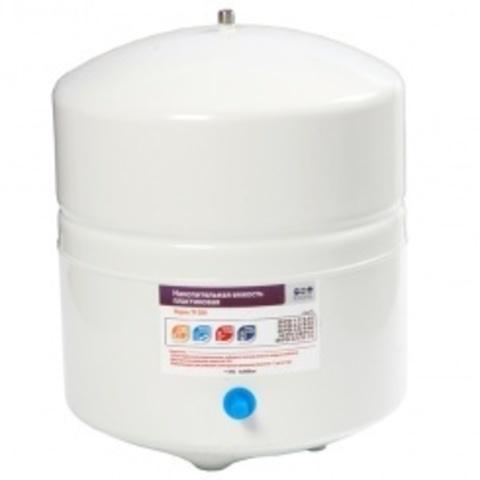 Накопительная емкость металлическая ROT-4W (объем 4 Gal/12 литров, белый) Райфил