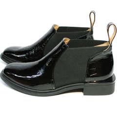 Модные ботинки челси женские Ari Andano 721-2 Black Snake.