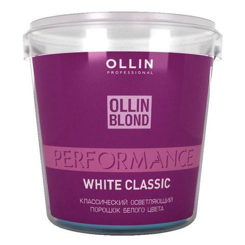 ОСВЕТЛЯЮЩИЙ ПОРОШОК  БЕЛОГО ЦВЕТА PERFORMANCE WHITE BLOND POWDER 500 Г.