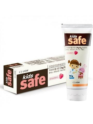 Детская зубная паста Kids Safe (клубника)