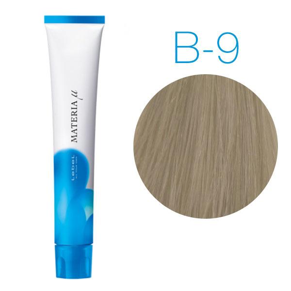 Lebel Materia Lifer B-9 (очень светлый блондин коричневый) -Тонирующая краска для волос