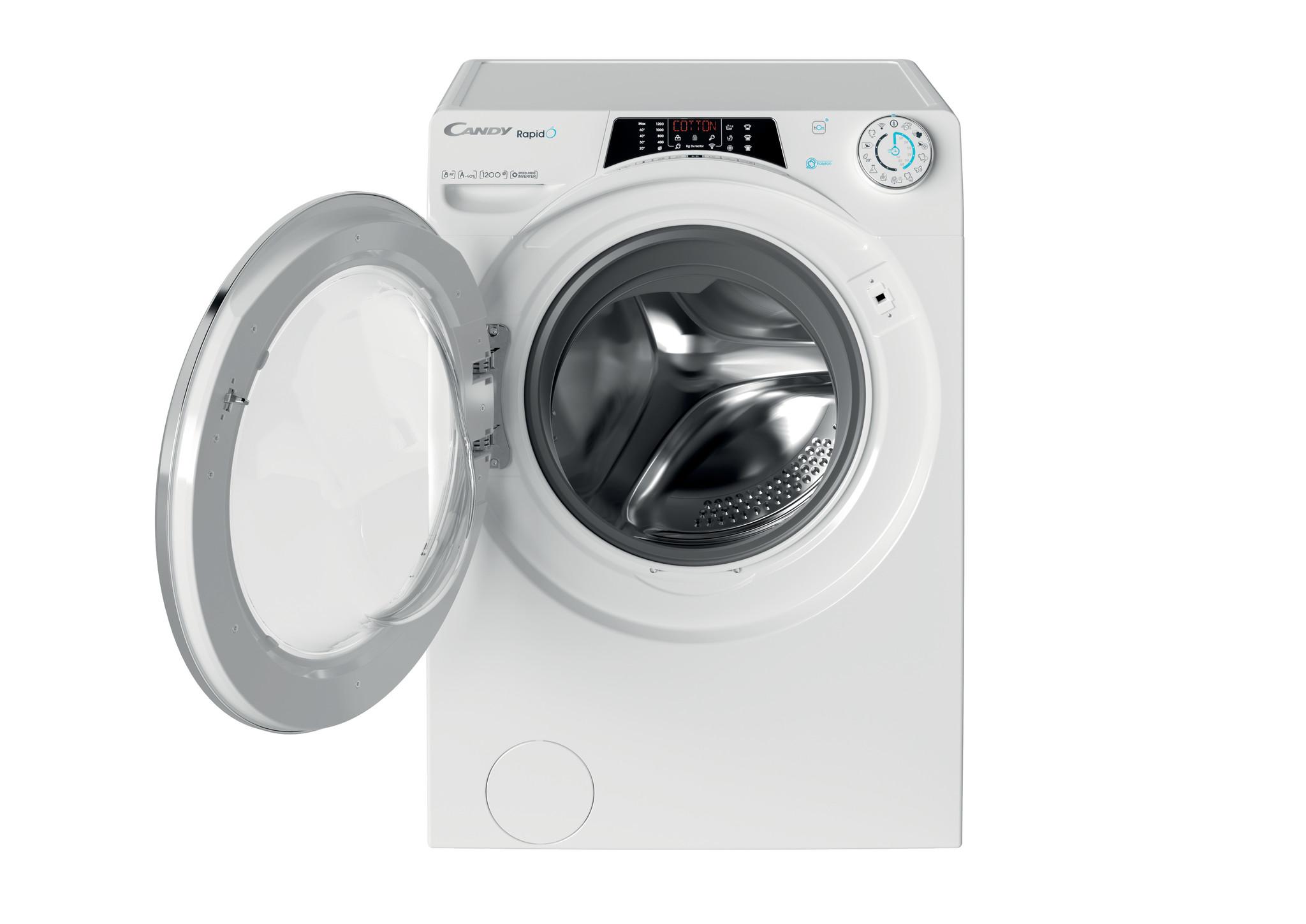Узкая стиральная машина Candy RapidO RO44 1286DWMC4-07 фото 4