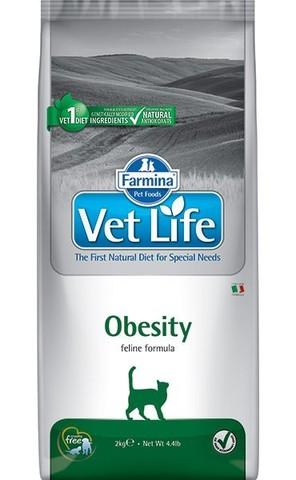 Сухой ветеринарный корм Farmina Vet Life Cat Obesity