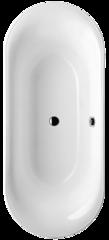 Ванна овальная 175х75 см Villeroy&Boch Cetus Duo UBQ175CEU7V-01 фото