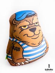 Подушка-игрушка антистресс «Медведь-вдвшник» 3