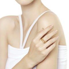 93010837 - Кольцо из золочёного серебра