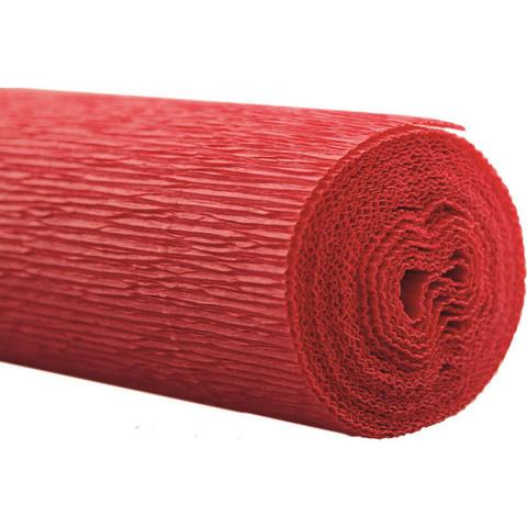 Бумага гофрированная флористическая Werola красная 50x250 см