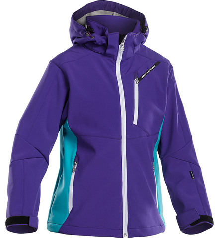 Куртка лыжная подростковая 8848 Altitude - Apex JR Softshell Purple