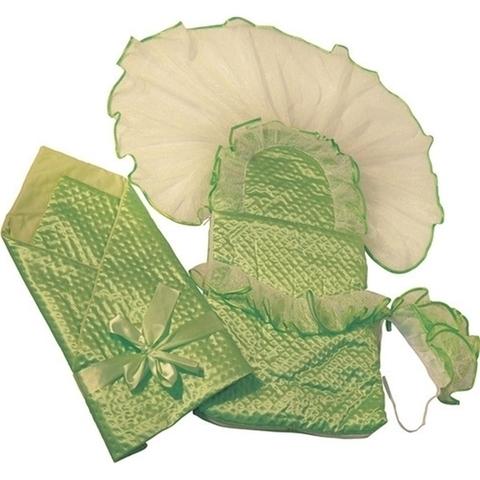 Демисезонное одеяло и конверт на выписку Топотушки Любаша , 3 предмета