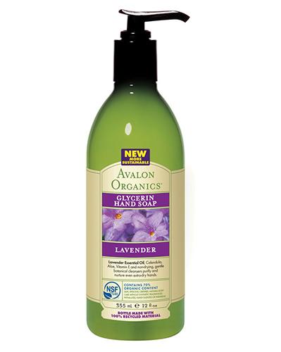 Глицериновое мыло для рук с маслом лаванды, Avalon Organics