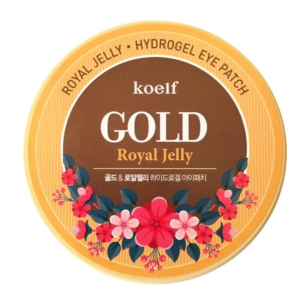 Гидрогелевые патчи Petitfee Koelf Gold & Royal Jelly Eye Patch
