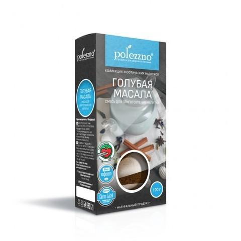 Чай масала голубая Polezzno, 100г
