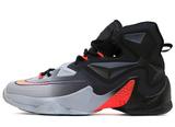 Мужские Кроссовки Nike Lebron XIII Grey Black Red