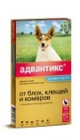 Адвантикс для малых пород собак от 4 до 10 кг
