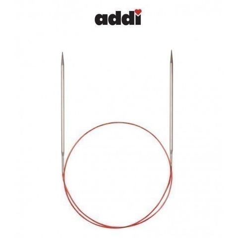 Спицы Addi круговые с удлиненным кончиком для тонкой пряжи 100 см, 3.25 мм