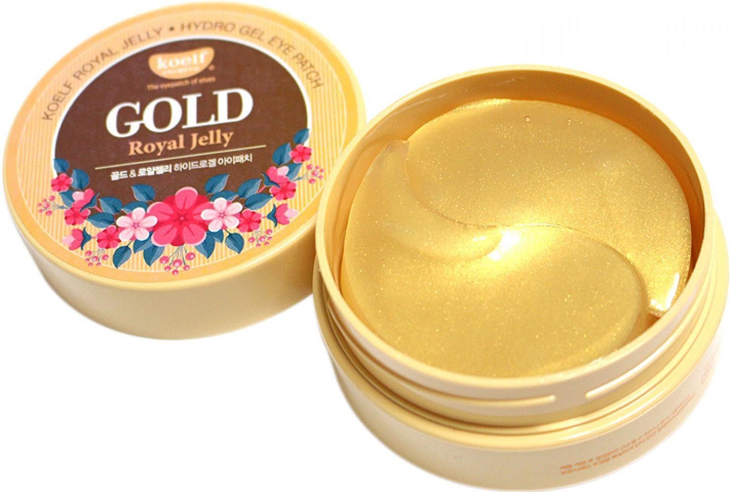 Гидрогелевые патчи для век Petitfee Koelf Gold & Royal Jelly Eye Patch