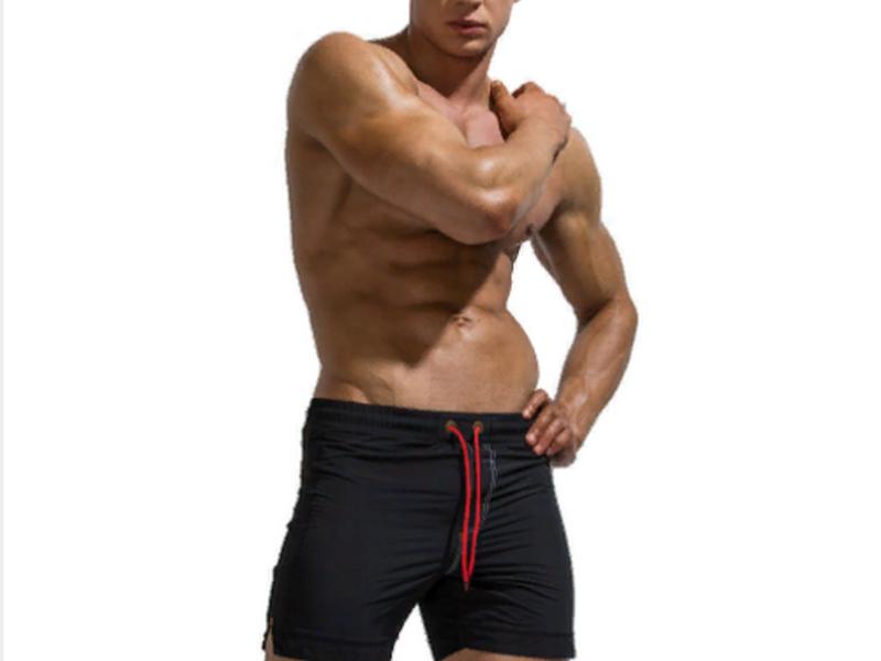 Мужские шорты черные UXH B9210