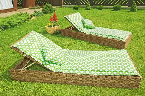 Подушка на шезлонг Раунд уличная коллекция
