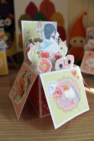 036-9950 Pop-up открытка-коробочка