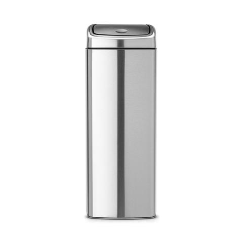 Прямоугольный мусорный бак Touch Bin (25 л), артикул 384929, производитель - Brabantia