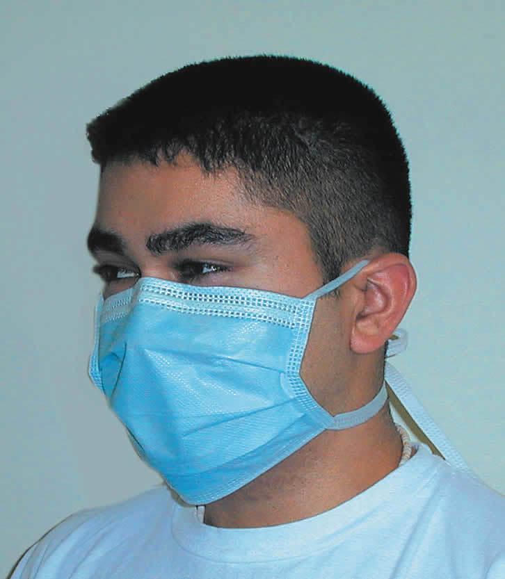 Одноразовые хирургические маски Surgical Tie-On (50 шт.) А.01.05.