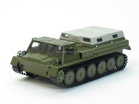 GAZ-71 GT-SM Crawler Transporter 1:43 Start Scale Models (SSM)