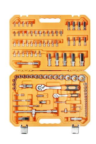 Набор инструментов универсальный 94 предмета, пласт.кейс
