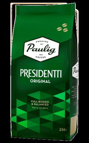 Кофе в зернах Paulig Presidentti Original 250 г