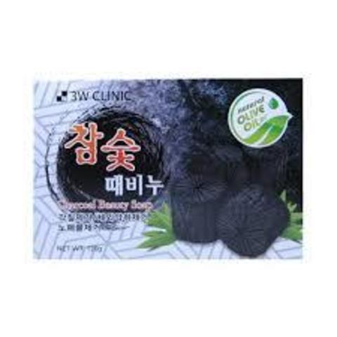 Очищающее Мыло С Древесным Углём 3W CLINIC Dirt Soap Charcoal Coal