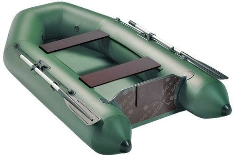 Моторная лодка Аква 2600 (стационарный транец)