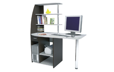 Компьютерный стол Скай БТС Венге/лоредо