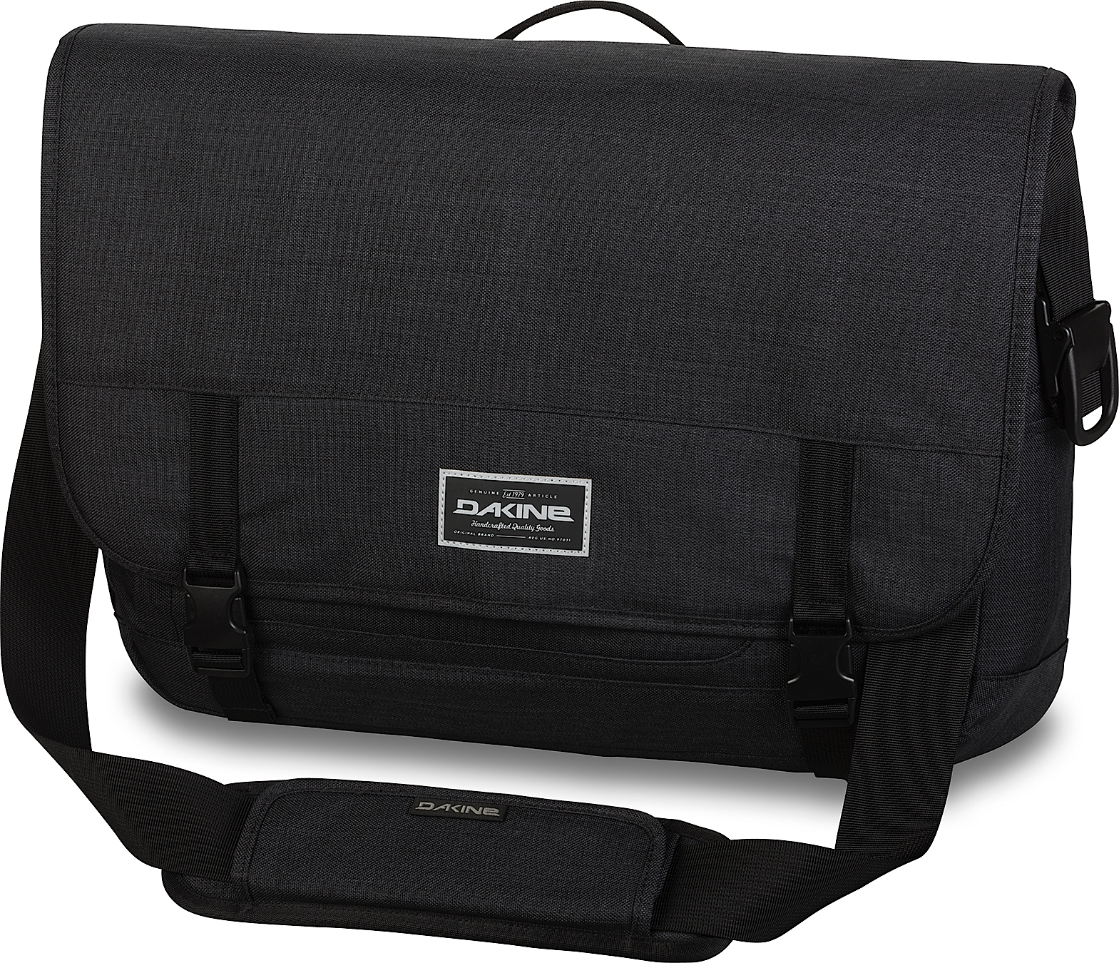 Унисекс Сумка через плечо Dakine MESSENGER 23L BLACK 2015S-08130150-Messenger23L-Black.jpg