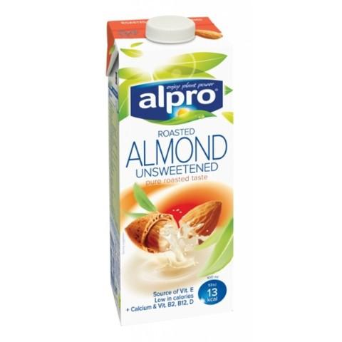 Напиток Миндальный Alpro без сахара, 1 л