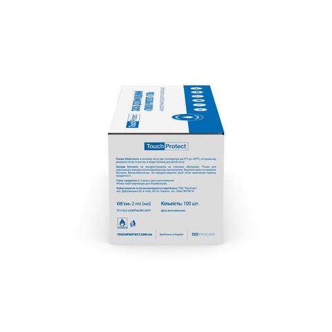 Антисептик гель для рук в саше Touch Protect 2 ml х 100 шт. (3)