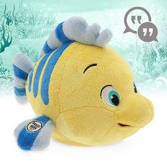 Русалочка интерактивная игрушка Флаундер