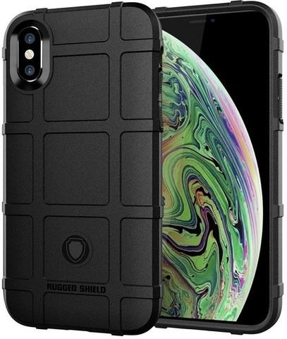 Чехол iPhone XS Max цвет Black (черный), серия Armor, Caseport