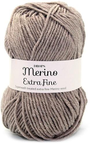 Пряжа Drops Merino Extra Fine 07 темный беж