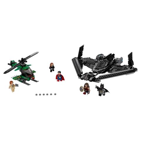 LEGO Super Heroes: Поединок в небе 76046 — Heroes of Justice: Sky High Battle — Лего Супергерои Marvel Марвел DC Comics комиксы