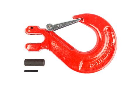 Крюк с вилочным креплением и защелкой TOR г/п 5,3 тн, шт