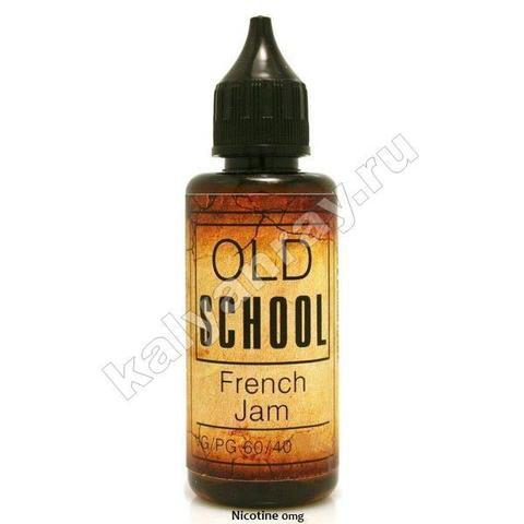 Жидкость OLD SCHOOL - French Jam 0% никотина
