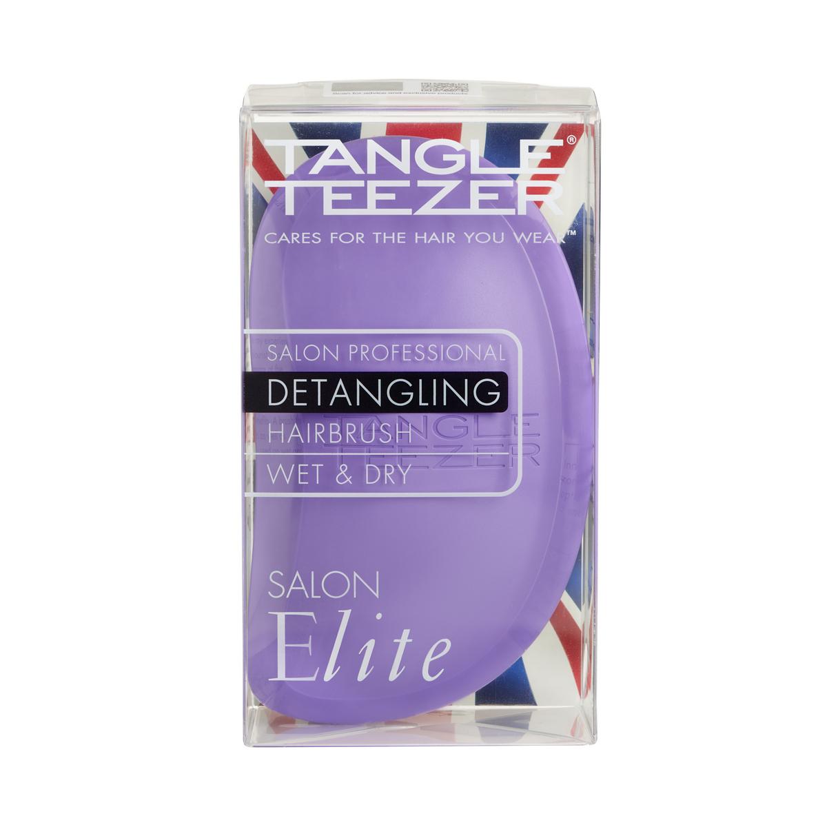 Расческа Tangle Teezer Salon Elite Purple&Yellow
